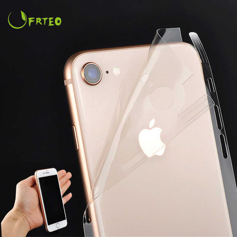 Hydrogels Transparent Oil-Resistant Sticker For iPhone 11 6 6S 7 8Plus X Xr Xs Max Decal Back Decorative Skin Stickers Protector