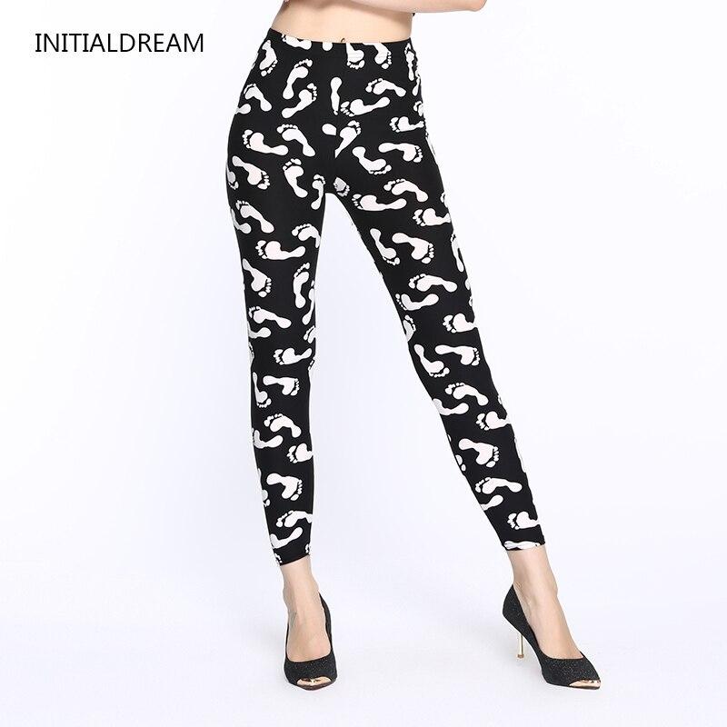 2018 Floral Print Leggings Pants causal Leggings Women Fall Fashion Disco Leging Feminino Ropa Mujer Jeggings Gift HDDK0071