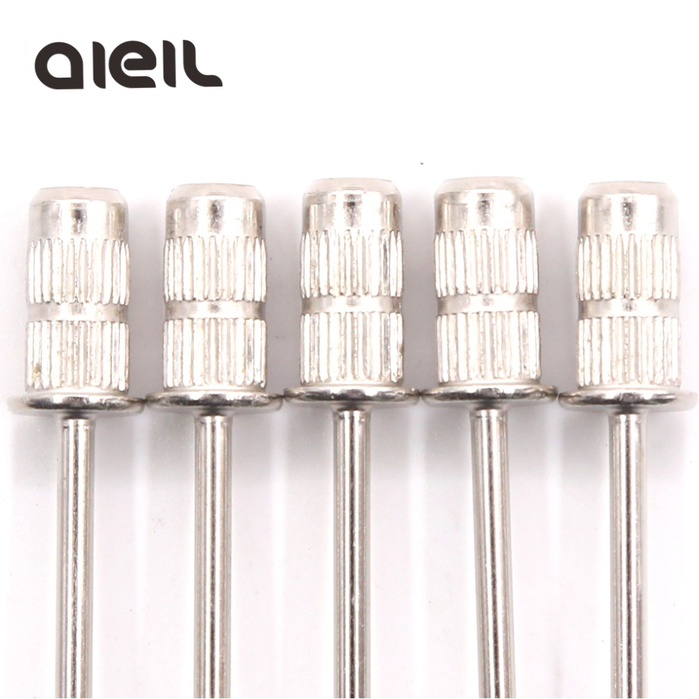 5PCS Nail Drill Bits Sanding Bands Mandrel Grip Cutters For Manicure Nail Sanding Caps For Pedicure Cutters For Pedicure Sanding