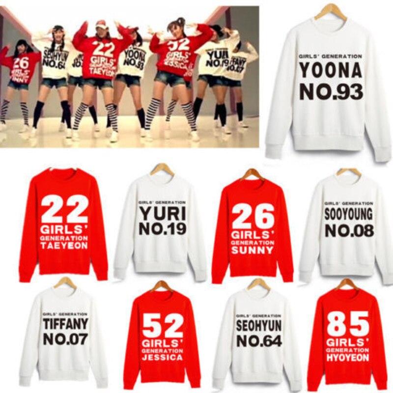 Mainlead KPOP Girls' Generation SNSD TaeYeon Yoona Hoodie Sweatershirt Pullover