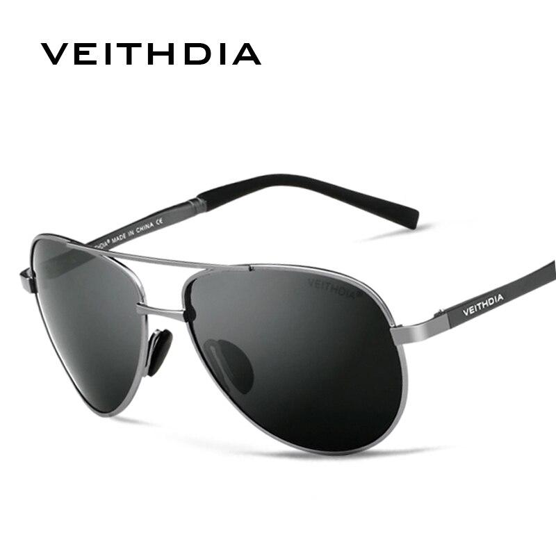 2ff457aa39 Товар VEITHDIA Men's Sunglasses Brand Designer Pilot Polarized Male ...