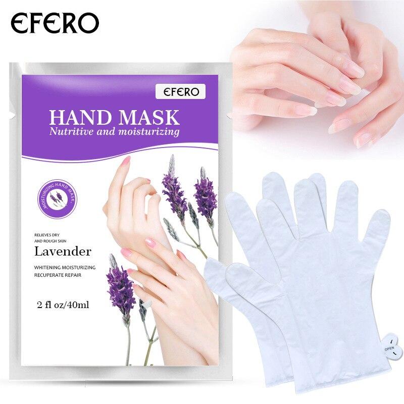 Маска EFERO для рук, отшелушивающая маска для ухода за кожей рук, пилинг, питающая Бриллиантовая маска, крем для рук, перчатки, уход за кожей TSLM1