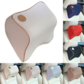 New Space Cotton Memory Car Seat Pillow Cushion Car Comfort Head Rest Pad Auto Supplies Neck Pillow Auto Safety Pillow 7 Colors