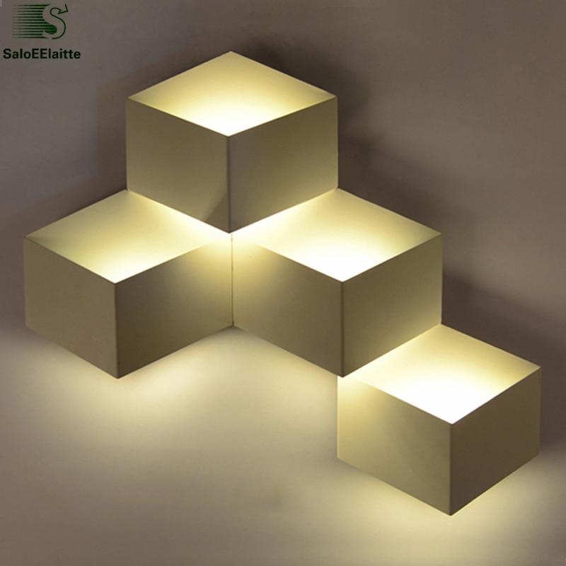 Зидна светиљка од белог метала за - Унутрашња расвета
