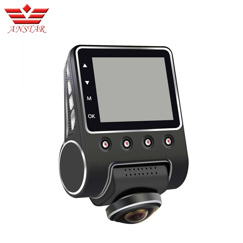 ANSTAR 360 Degree View Angle WiFi Car DVR Camera Full HD 1080P Night Vision Dash Cam 24 Hours Monitored Video Recorder