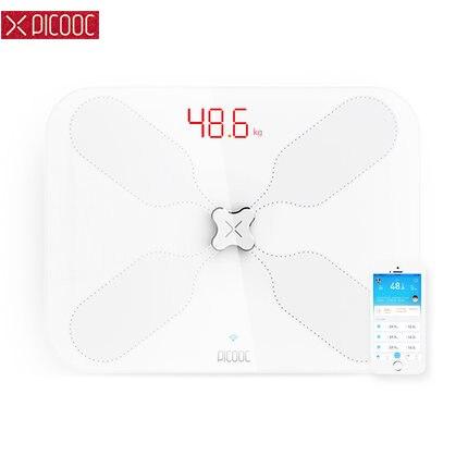 Hot WiFi Blanc PICOOC S3 Lite Smart Échelle de Graisse Corporelle mi Échelle Ménage Pré mi um Numérique Pesant Échelle Soutien bluetooth APP dans Salle de bains Échelles de Maison & Jardin