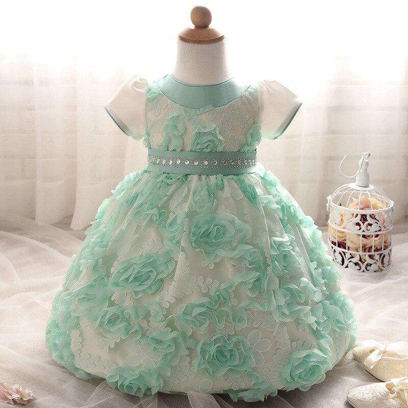 Vestido de festa para bebe de seis meses