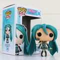 Funko POP Hatsune Miku Action Figure Anime VOCALOID Vinyl Figurine Funkpop Rocks #39 Musical Little Girl Figura Model Doll Toys