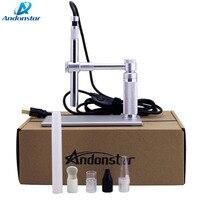 2MP USB Andonstar Digital Microscope 500x 8 LED usb Microscope Video Camera Stand Electron Microscopy usb magnifier WIFI Module