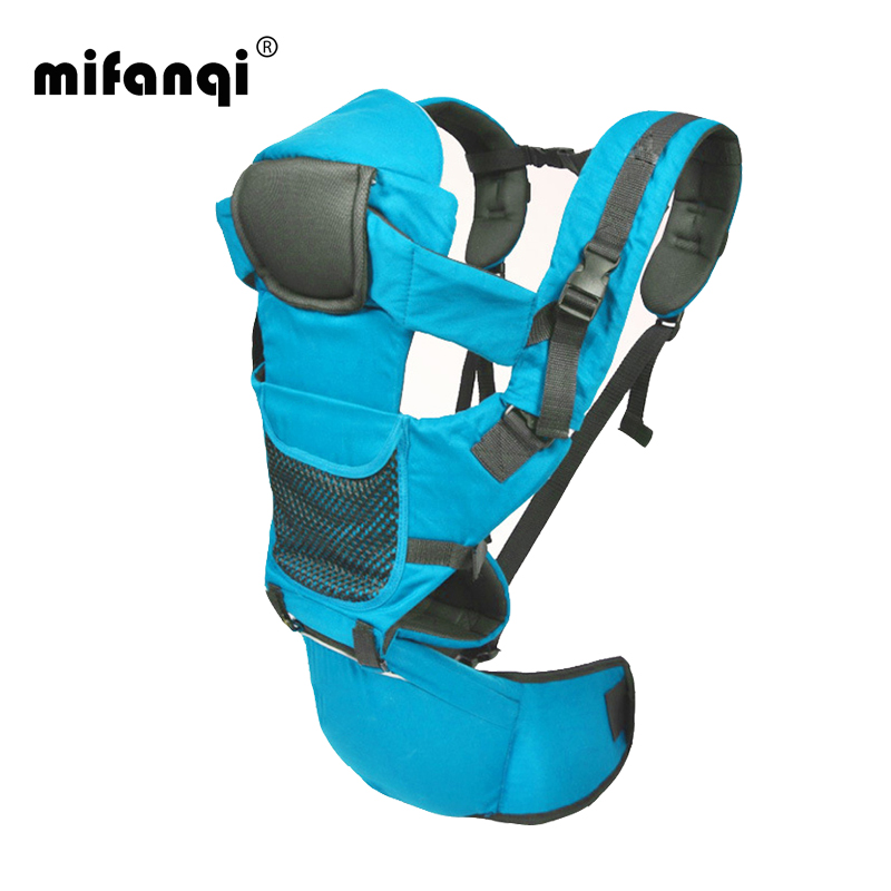 Baby Sling 10-12 Months Multifunction Baby Carrier Face-To-Face Kangaroo Baby  Wrap Cotton Mochila Portabebes Solid Manduca 3023e75d982