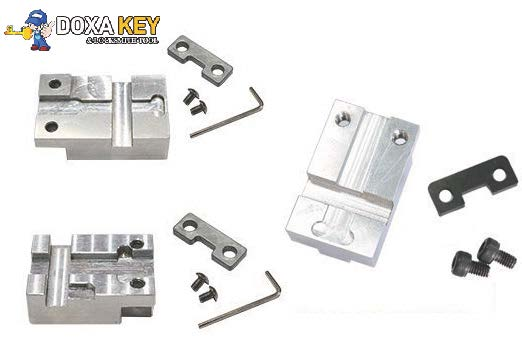 <font><b>Hu64</b></font> Hu66 TOY2 VA2 HU162T Key Machine Fixture Parts For Ford/Benz/Toyota/Lexus/Renault Car Key Clamp Replace A7 Sec E9 key Jaws image