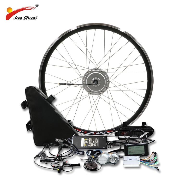 BAFANG Motor Wheel 48V 500W Electric Bike Conversion Kit with 48V20AH Lithium Battery 8fun BMP Gear