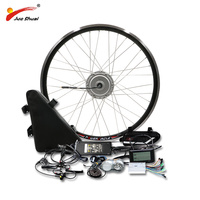 BAFANG Motor Wheel 48V 500W Electric Bike Conversion Kit with 48V20AH Lithium Battery 8fun BMP Gear Motor 26 700C 28 Ebike Kit