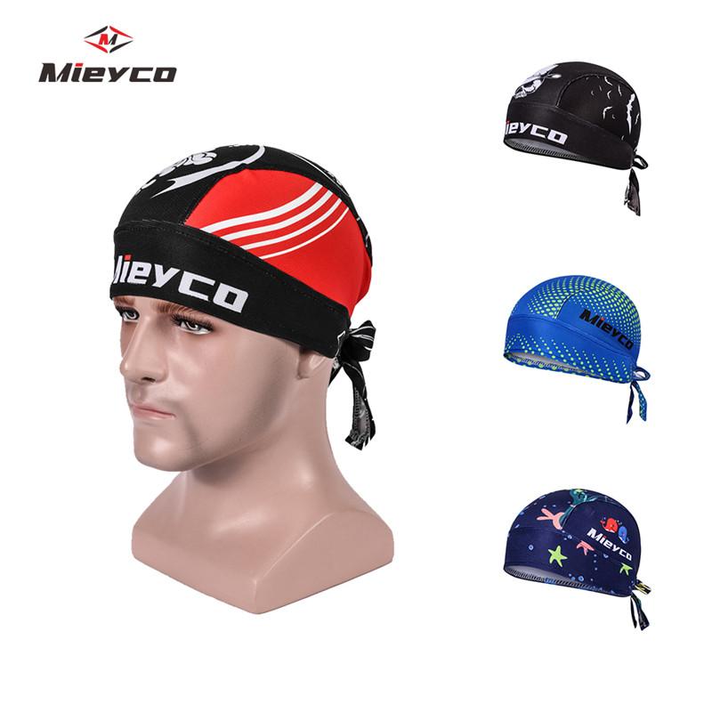 Men Women Cycling Pirate Cap Ciclismo Headscarf Bicycle Road Bike Bandana Anti Sweat UV   Headwear   Sport Headband Cycle Scarf