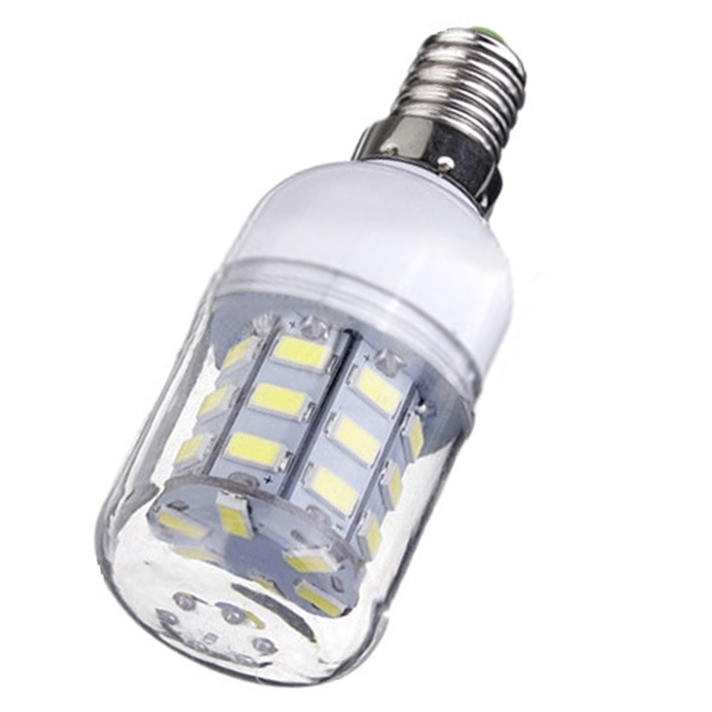 E14 Corn Bulb High Power LED 5730 SMD Light Lamp Energy Saving Color:Pure White Pack of:12 Pcs lexing lx r7s 2 5w 410lm 7000k 12 5730 smd white light project lamp beige silver ac 85 265v