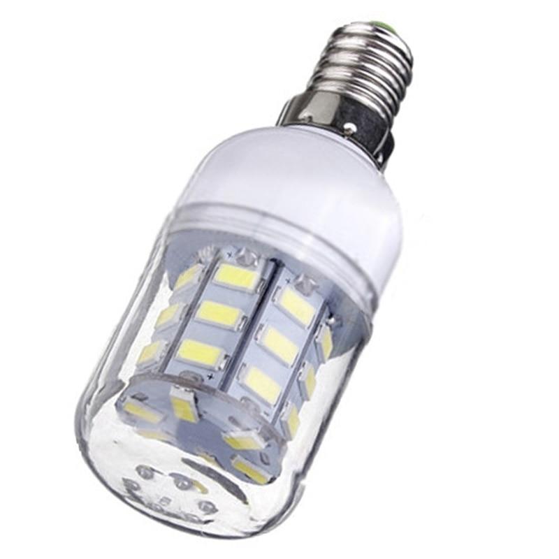 E14 Corn Bulb High Power LED 5730 SMD Light Lamp Energy Saving Color:Pure White Pack of:12 Pcs best price led lamp bulb e27 e14 b22 12w 5733 smd 136 led corn light bulb 220v 1500lm energy saving chandelier lights lighting