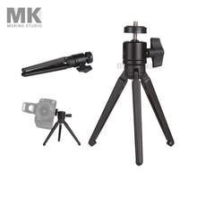 Selens Mini Tripods M11-072 47cm Collapsible aluminum Tripod all metal design with ballhead for Canon Nikon Sony Olympus