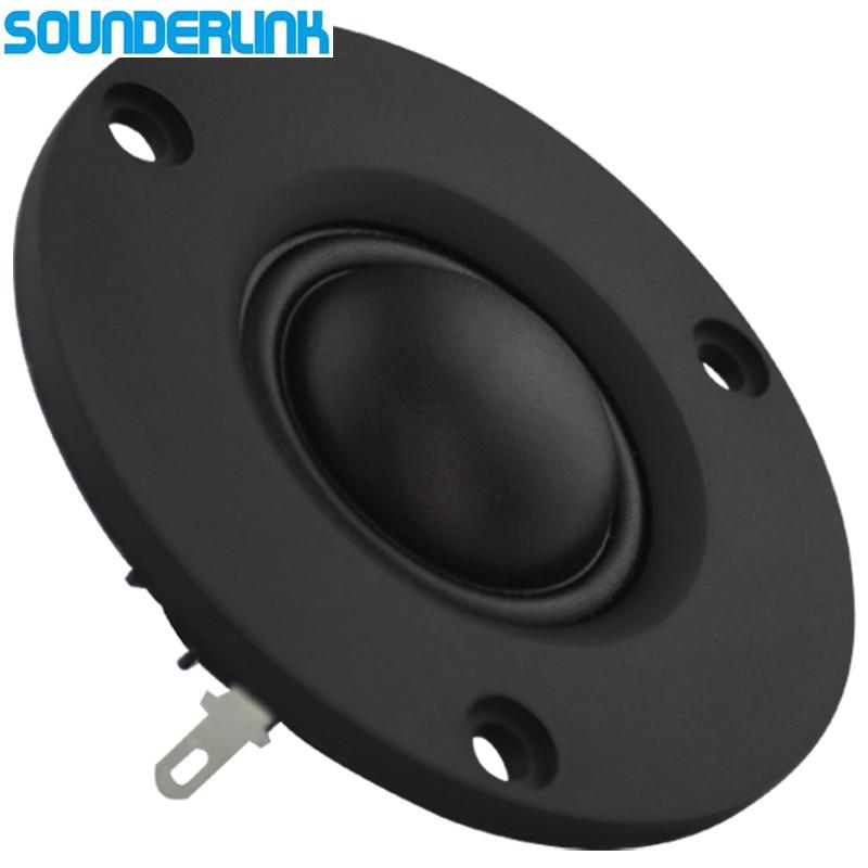 2 Piece/lot Audio Labs 2.5 inch 25 core 15W HiFi silk soft Dome speaker tweeter unit