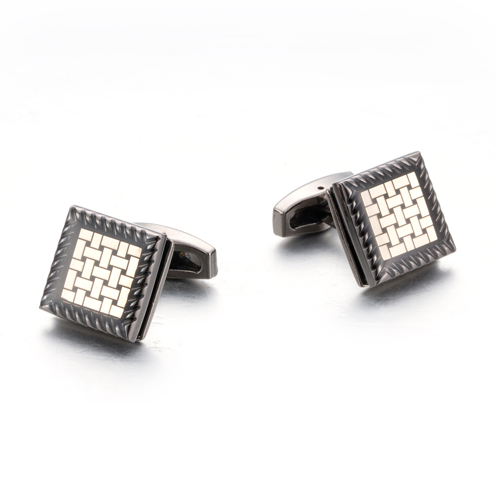 10pair per lot Men Luxury Cuff links Men Jewelry Cufflinks Hot Sale Square Gemelos 51486