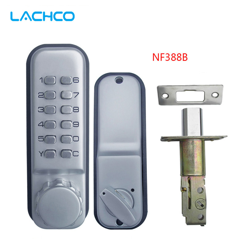 LACHCO Mechanical Code Lock Digital Machinery Keypad Password Door lock Stainless Steel Latch Zinc Alloy L17022LACHCO Mechanical Code Lock Digital Machinery Keypad Password Door lock Stainless Steel Latch Zinc Alloy L17022