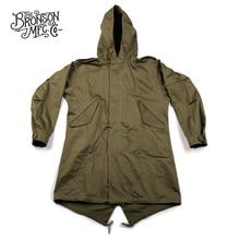 Bronson Repro US Army Fishtail M 51 Parka Shell 1st Vintage Mens Military Uniform Jacket