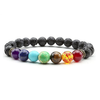 Chakra Stone Healing Balance Beads Bracelet