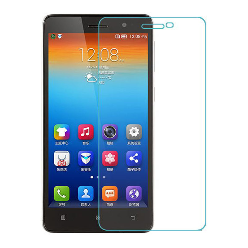 0.26mm Tempered Glass Film for Lenovo S860 s 860 Arc Edge High Transparent Screen Protector for S860 Film with Clean Tools