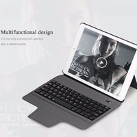 Bluetooth Keyboard Cover Case With Stand Intelligent Switch For IPad Air 2 Pro 9 7