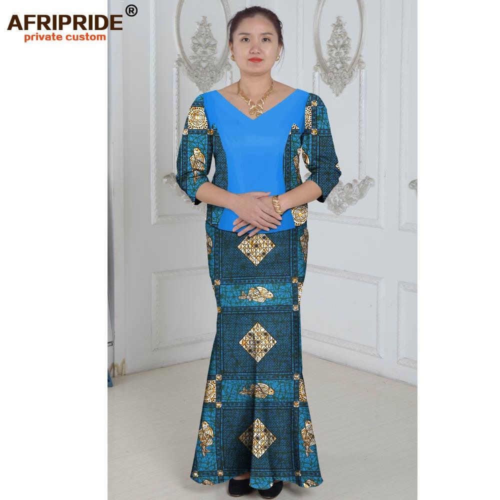Vêtements africains costume deux pièces costume d'été princesse - Vêtements nationaux - Photo 6