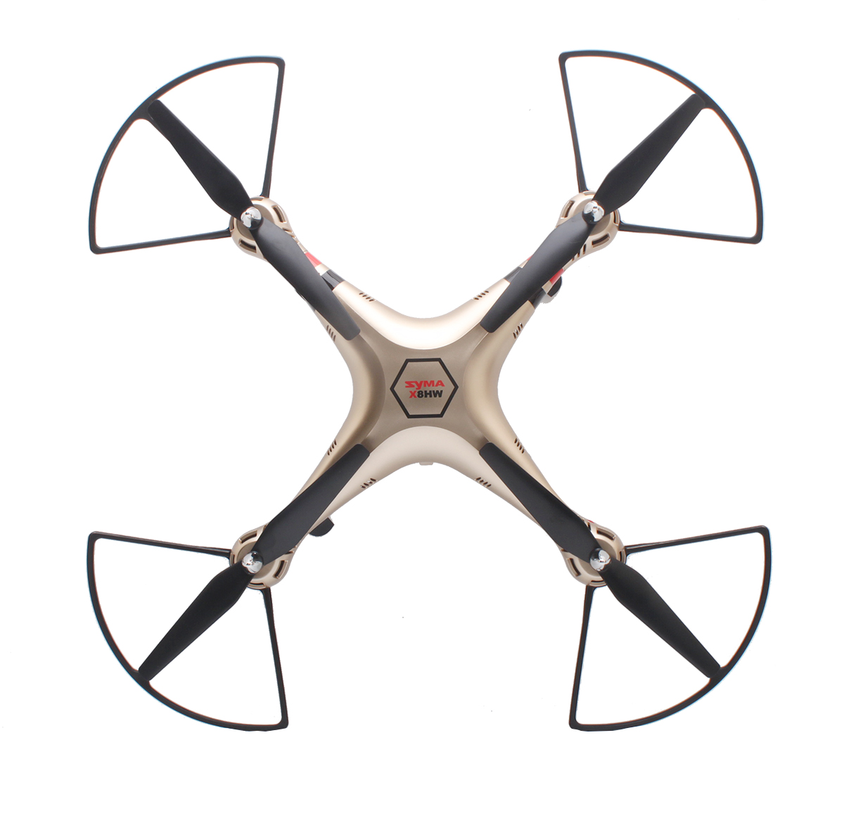 Tout nouveau Drone gyrorotor RC quadrirotor SYMA X8HC 2.4 Ghz 6 axes avec caméra Camra HD 2.0MP hélicoptère quadrirotor RC grand Angle VS X8C - 2