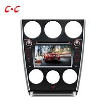 """7 """"HD de Coches Reproductor de DVD GPS para Mazda 6 con el bluetooth de radio, Rueda de apoyo de Dirección y el Sistema de Audio Bose, Pantalla Táctil capacitiva"""