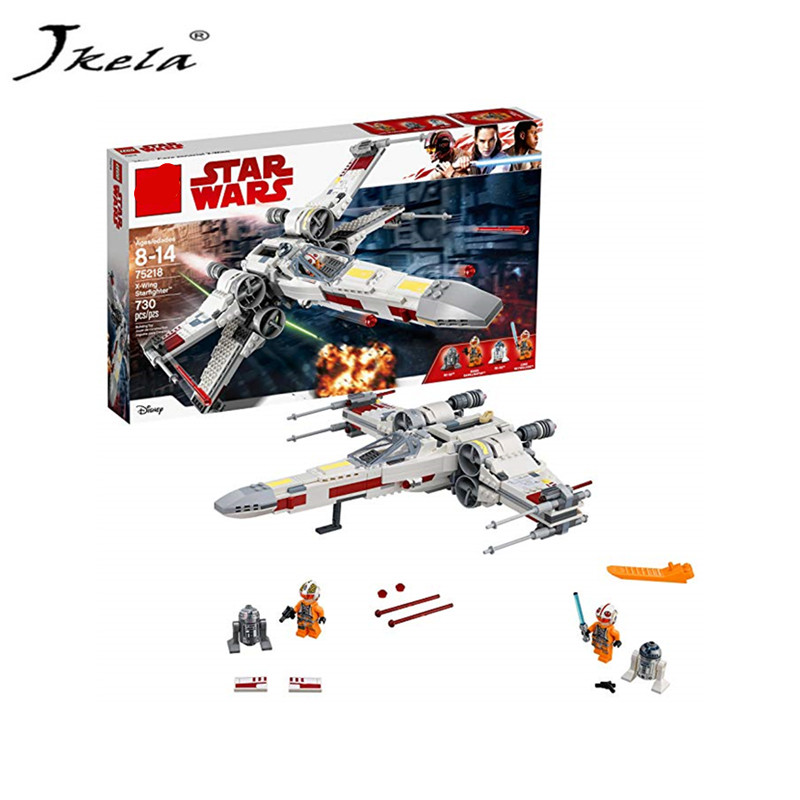 New Star Wars Series X-Wing Starfighter Compatible Legoing StarWars 75218 Building Blocks Bricks Toys Model Gifts Kids new star wars series the sandcrawler compatible legoing starwars 75220 model building blocks kids toys funny christmas gifts