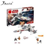 New Star Wars Series X Wing Starfighter Compatible Legoing StarWars 75218 Building Blocks Bricks Toys Model Gifts Kids