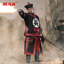 1/6 Scale Collectible Full Set NO.0005 Qing Dynasty Series Musketeer Solider Eddie Peng Yuyan Action Figure Model for Fans Gift