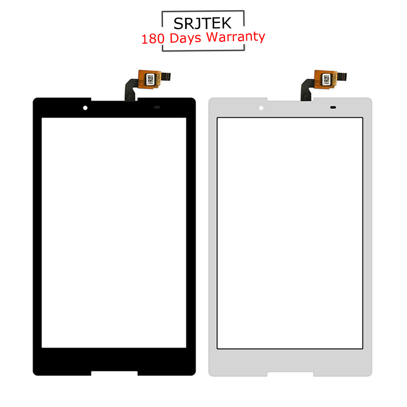 For New Lenovo Tab 2 A8-50 A8-50F A8-50LC Replacement Touch Screen Digitizer Glass Black White 8-inch srjtek for lenovo tab2 tab 2 a8 50f a8 50lc touch screen panel digitizer sensor glass black and white 8 inch replacement parts