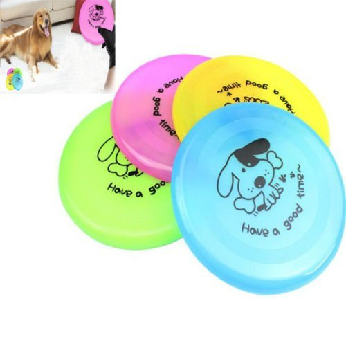 SDFC Imprime animal de compagnie Formation Flying Saucer disque Frisbee