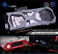Bykski N G9 6 Full Cover Graphics Card Water Cooling Block For MIS GTX660TI GTX670 GTX760