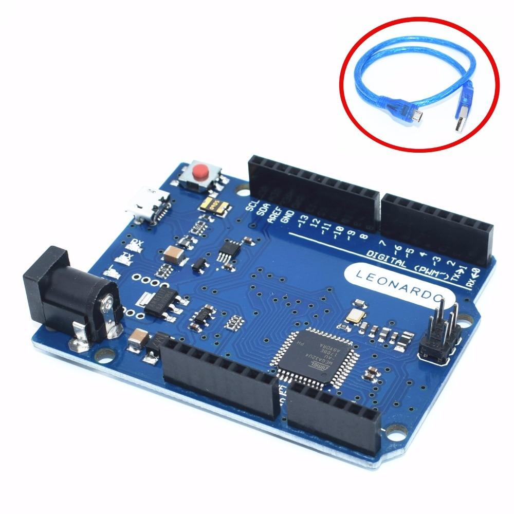 Leonardo R3 development board Board + 50cm USB CableLeonardo R3 development board Board + 50cm USB Cable