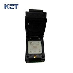 BGA63 0.8MM Probe programmer proman socket adapter size 10.5*13.5mm 9*11mm BGA63 to DIP48 Probe pin socket BGA63 flip pogo pin