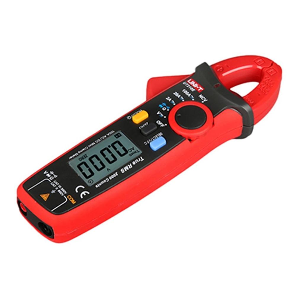 UNI-T Mini Original UT210E LCD Digital Multimeter Clamp Meter meters True RMS VFC NCV Current Voltage Capacitance Tester Sale