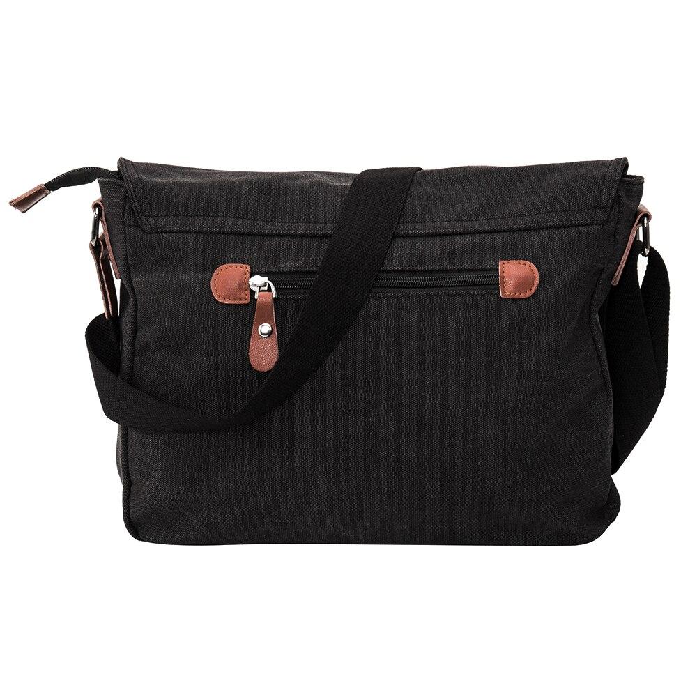 Canvas Leather Crossbody Bags Bolsa Handbags Men Messenger Shoulder For Man Quality Designer Big  Masculina