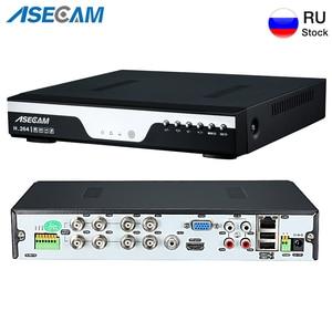 Image 1 - Super 8CH 4MP AHD DVR NVR Digital Video Recorder Onvif Network IP Camera Audio Alarm RS485 Video Surveillance