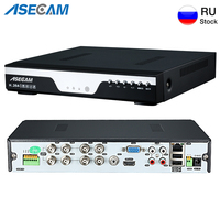 Super 8CH 4MP AHD DVR Digital Video Recorder for CCTV Security Camera Onvif Network 16Channel IP HD 1080P NVR Email Alarm
