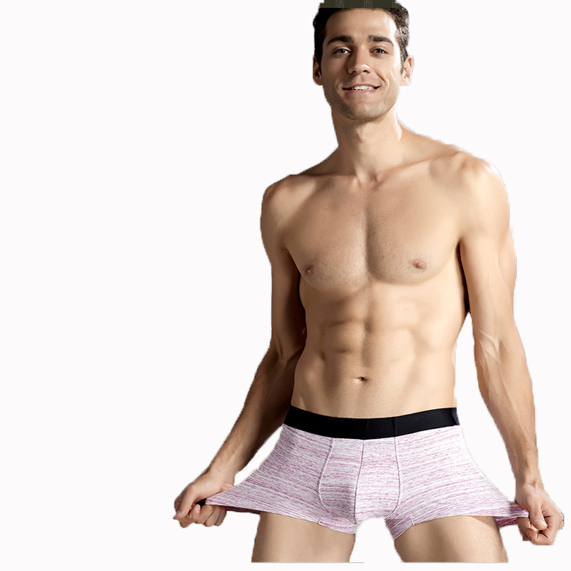 Back To Search Resultsunderwear & Sleepwears Iyunyi Men Boxer Shorts High Quality Cotton Breathable Underwear Trunks Button Front Open Mens Cuecas Underpants Panties Boxers