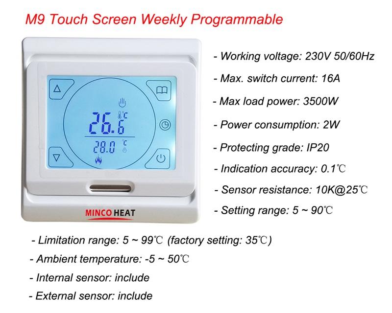 M9 thermostat