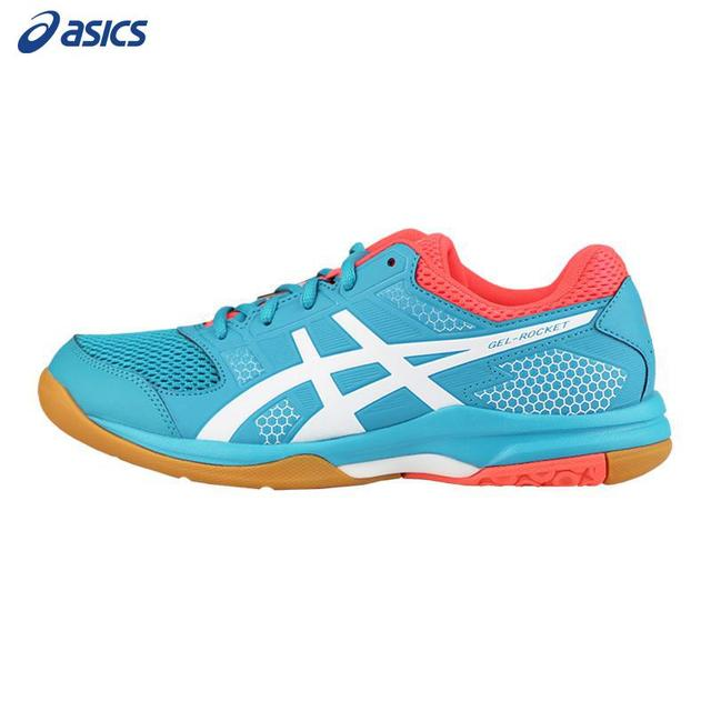 3492816f739d Genuine Asics Badminton Shoes Women Zapatillas Deportivas Anti-slippery  Breathable Volleyball Shoes Gel Technology