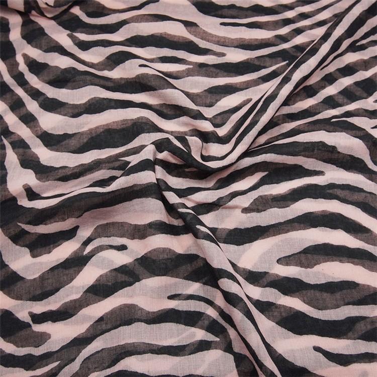 Spring Zebra Loop Scarf   Infinity Scarves