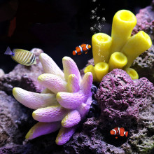Coral artificial Ornaments Colorful Underwater Aquarium Resin Corals Fish Tank decoration Accessories