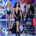 Vestido de noite 2017 Prom Dress Celebrity Dress por Selena Gomez no VS CGC018 Ocasião Formal Vestidos de Noite Vestido de festa