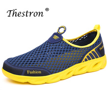 Thestron 2019 Water Shoes Men Lovers Beach Spring Outdoor Aqua Slippers Socks Summer Swimming Platform Quick-Dry Shoe